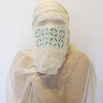 Beaded Mummy Mask